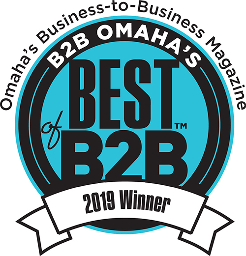 Winner B2B Omaha's Best of B2B